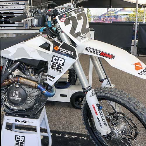 Chad Reed's Bike