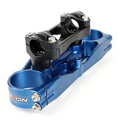 Luxon Top Triple Clamp, Yamaha, Two-Stroke, 22mm